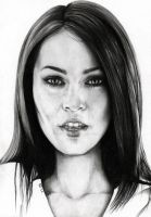 Megan Fox by burnyourdreams