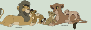 Adoptable Lion Family 3 OPEN by Skylar-Adopts