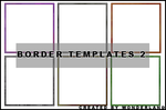 30 Icon Border Templates by Foxxie-Chan