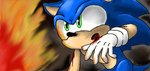 Sonic in Crisis City by MeetJohnDoe