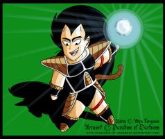 Evil Little Chibi Raditz by Paradise-of-Darkness