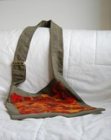 bag with felted pannel 1 by were-were-wolfy