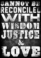 Wisdom Justice and Love by MD3-Designs