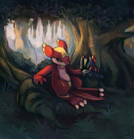 Into Forest by salanchu