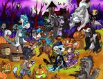 Bagbeans Event 1 - Hollowbean Trick or Treat by SonGoku-Monkey