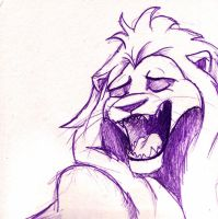 singing lion by timacs