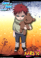 Sabaku no Gaara - Childhood by Shinoharaa