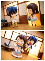 Don't walk in on Tsugumi! by frasbob