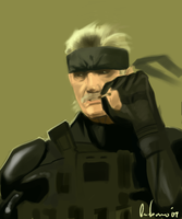 Old Snake by ledomo