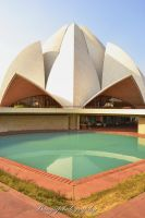 Lotus Temple by naveenbanga