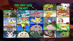 Total Digimon Island Elimination Order by DEEcat98
