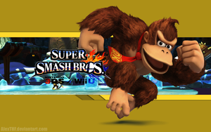DK Wallpaper - Super Smash Bros. Wii U/3DS by AlexTHF