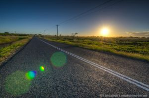 Take Me Home Country Road, Queensland, Austral by Ashmolephotography