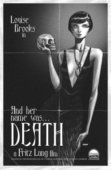 Louise Brooks as DEATH by Devilpig
