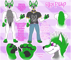 New Gage Puhp Reference sheet! 2012 by Mirera