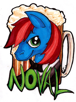 Noval Badge 1 by Rica-Fox-Prower