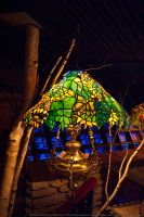 HotR : Stained Glass Lamp 03 by taeliac-stock