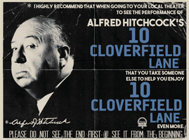 Alfred Hitchcock's 10 Cloverfield Lane by Jarvisrama99