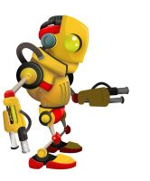 small robots by cuax