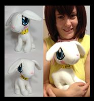 Digimon - Salamon life size custom plush by Kitamon