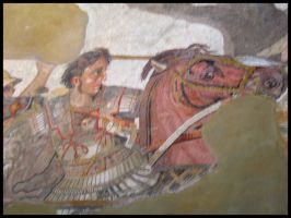 Mosaic - Alexander the Great 1 by wiebkefesch
