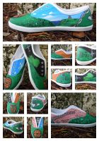 Ireland shoes complete set by songbirdholly