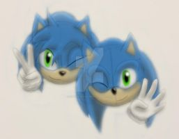 Sonic and Nikki B-Day 2015 by xXStoryWolfXx