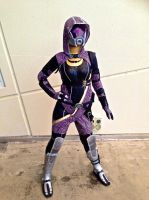 Tali'Zorah 2.0 at Gold Coast Supanova 2013 by JuuriCostumes