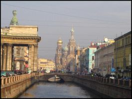 Noon in St. Petersburg by tiger-lily-russia