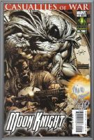 signed Moon Knight #9 by force2reckon