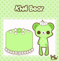 Kiwi Bear by sugarlette
