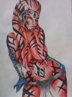 Darth Talon by Tupsumato