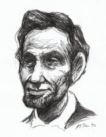 Abe Lincoln by msciuto