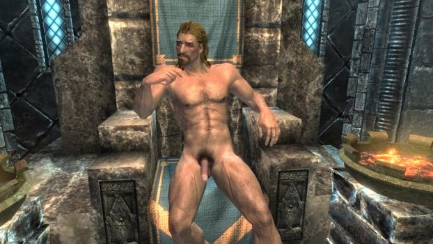 Ulfric truly naked by lostangel1987