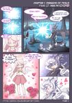Chase Hedgehog Page1 Picking up girls in a Dungeon by PencilTales