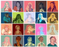 Palette Challenge by Luciana-Lu