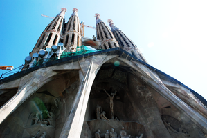 Sagrada Familia by demonflair