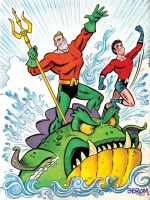 Aquaman and Aqualad by mengblom
