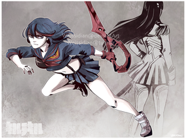 Kill la Kill by Weissidian