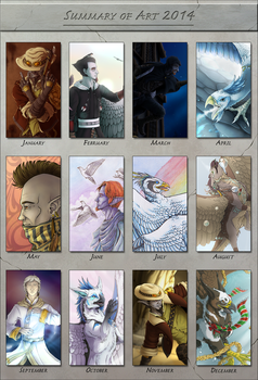 Art Summary 2014 by Waittiz