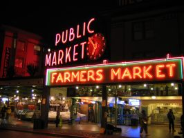 Nightime at The Market by dsiegel