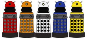 Paradigm Daleks by Percyfan94