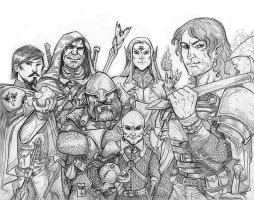 A Party of Six by Everwho