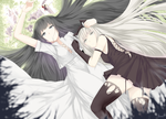 Monochrome Witches [Arabelle and Gretel] by Hews-HacK