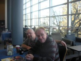 GERRY CONWAY AND ME AT AKRON COMICON 2012 by FanBoy67