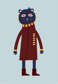 Night in the woods inspired character. by GarryWasTakenTwise