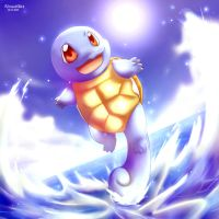 Squirtle by Vermeilbird