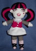 Draculaura Plush by LoveGaara06