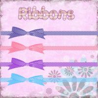 ribbons pack by kikarr