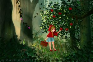 Little red riding hood by marshey